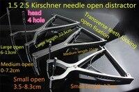 Медицинские Ортопедические Инструмент 1,5 2,5 Киршнер pin для бутылок ботильоны коленного сустава Киршнер иглы дистрактор провод втягивающим