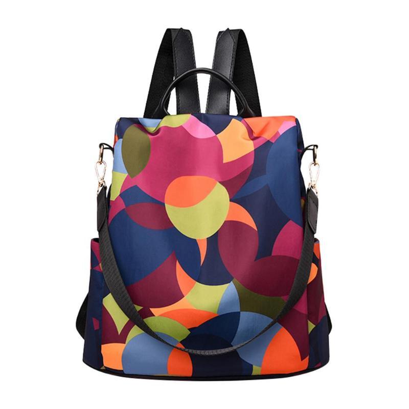 HTB11mPVNcfpK1RjSZFOq6y6nFXaa Fashion Oxford Women Anti-theft Backpack High Quality School Bag For Women Multifunctional Travel Bags
