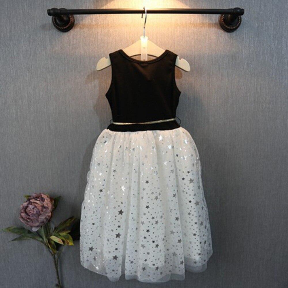 Mädchen Kleid Sommer 2-7 jahre Pailletten Kleider Kinder Kleidung ...