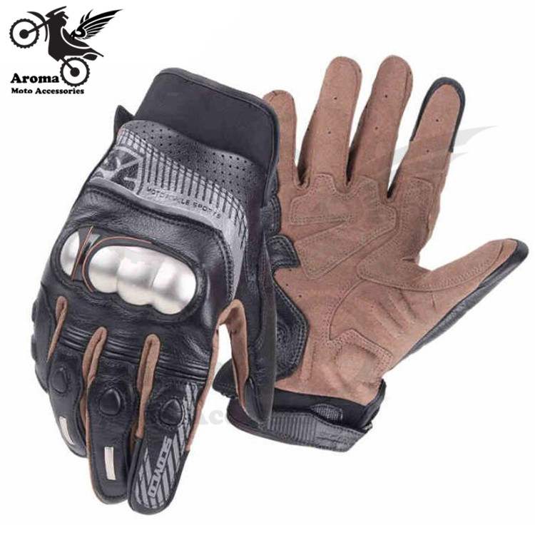top quality retro part motocross protection hand pit bike for KTM riding moto guantes motorbike luvas leather motorcycle glove hot sale motorcycle gloves motorbike moto luvas motociclismo para guantes motocross 01c motociclista women men racing gloves