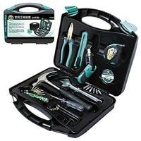 Hot Pro'skit PK 2030 30PCS General Household Tool Kit Combination Electrician Hand Tool Set Electronic Repair Multi Tool Box