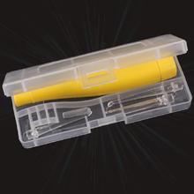 Безопасная для детей ложечка для чистки ушей от ушной серы с подсветкой, очистка, извлечение, до 2 лет(China (Mainland))