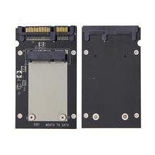 MSATA SSD до 2,5 дюймов SATA III адаптер карты Жесткий диск конвертер Модуль платы