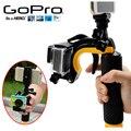Gopro Accesorios Flotador Estabilizador de Sección Del Obturador del Disparador de la Pistola Conjunto Flotante mango para go pro hero 4 3 + 3 xiaomi yi cámara