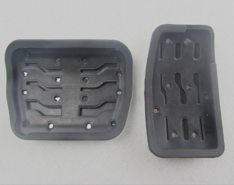 Non slip Steel Car Foot Pedal Pad Cover Fit F150 Accelerator Gas Brake Pedals Replacement Kit For Ford F150 2009 2015 Fast Ship in Pedals from Automobiles Motorcycles