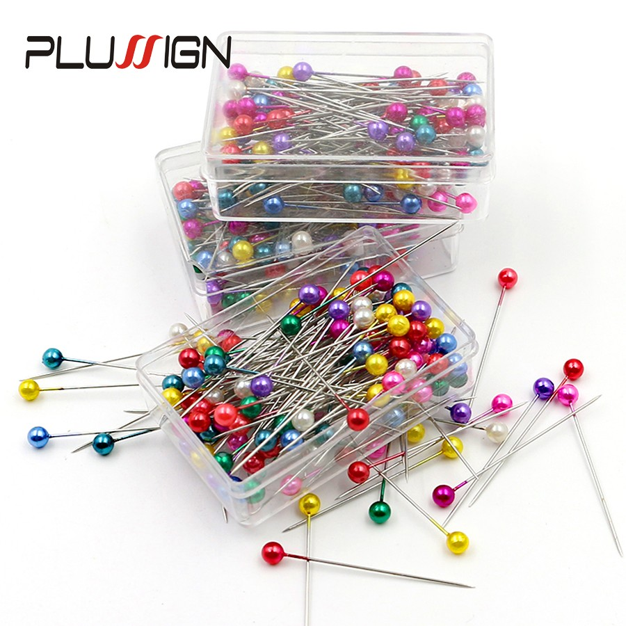 Hot Sell Black Round Pearl Headed Pins Corsage Florists Sewing Pin For Wedding Flowers Buttonholes Corsages Bridal Floral Craft
