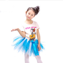 Fluffy Girls Tulle Tutu Skirt Baby Kids Blue Dance Ballet Skirts Infant Toddler Tutus for Birthday Party Child Pettiskirt 1-10Y