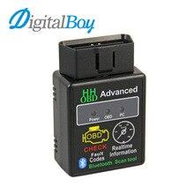 Авто ELM327 HH android-bluetooth OBD 2 OBD II диагностический инструмент сканирования elm 327 сканер