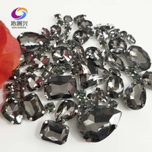Sell at a loss!! 68pcs/pack Gray mix size high quality glass crystal material sew on claw rhinestones,diy Clothing accessorie 10pcs k791 slotted hole sheet iron 5 20mm for diy model making adults and children high quality sell at a loss usa belarus