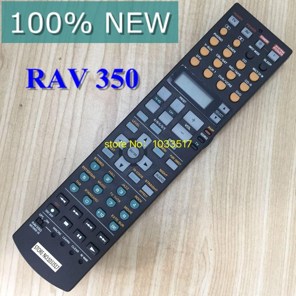 100% new remote control RAV350 for yamaha RX-V4600 RX-V2700 RX-V1200 universal remote control suitable for yamaha rav22 wg70720 home theater amplifier cd dvd rx v350 rx v357 rx v359 htr5830