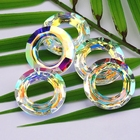 14mm 30mm crystal beads crystal AB glass beads loose beads Cosmic Ring for Jewelry making Necklaces Earrings Accessories