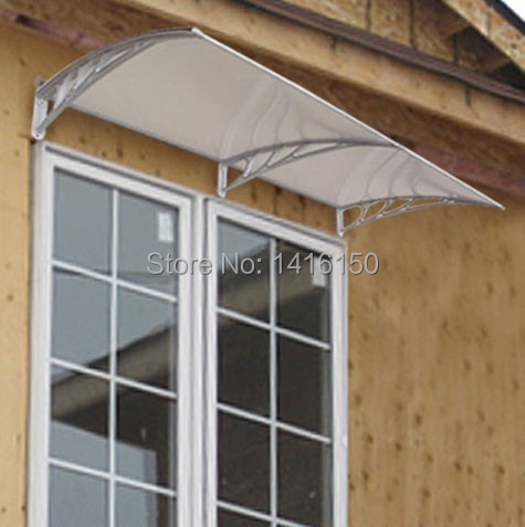 Window/Door/Balcony Use Awnings CanopyPlastic & DS120200 P120x200cm.Window/Door/Balcony Use Awnings Canopy ...