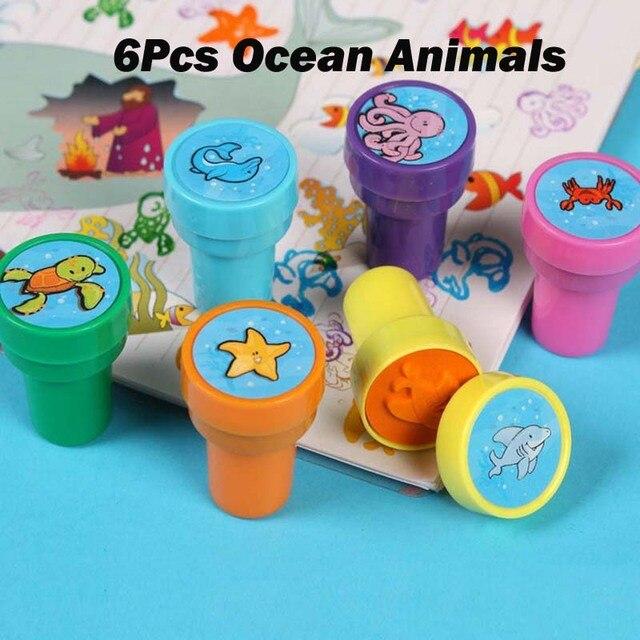 6Pcs Ocean Animals