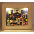 DIY Doll House Wooden Doll Houses Miniature dollhouse Furniture Kit Cute Room DIY Gift photo frame
