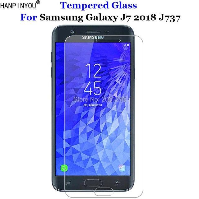 e719da3112d For Samsung Galaxy J7 2018 Tempered Glass 9H 2.5D Premium Screen Protector  Film For Samsung Galaxy J7 V /Refine/Star/Aero 5.5