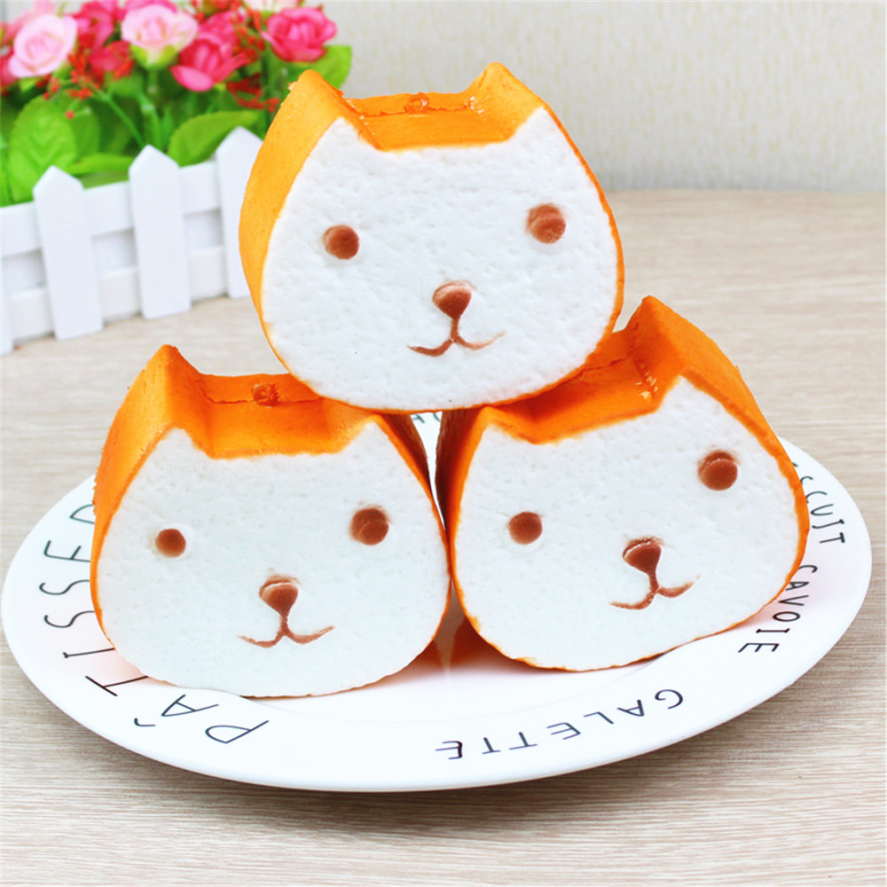 Squishies Antistress Squishy kawaii Bread Squeeze Toys Squish Stress Reliever Funny Toys 30S71228 drop shipping