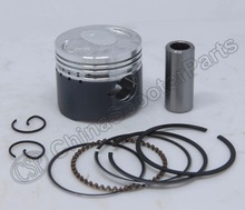 Performance molybdenum 39mm Piston Rings Kit GY6 50CC Jonway Jmstar Yiying Wangye Baotian Sunny Keeway Roketa