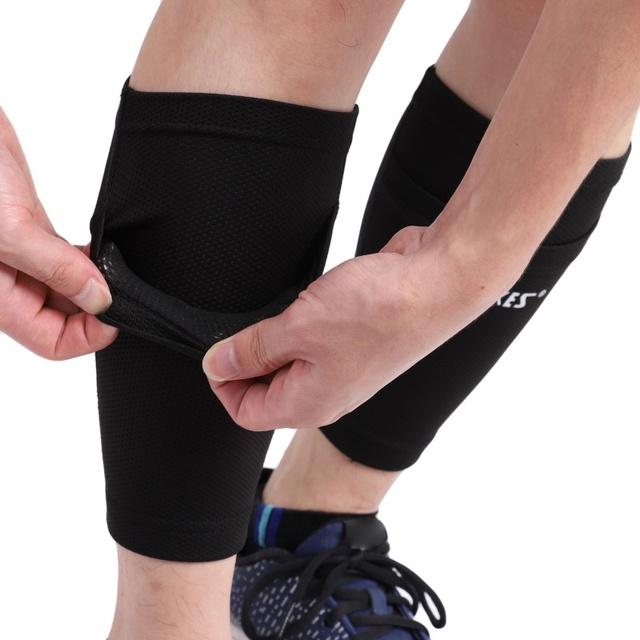 2019 Soccer Protective Socks With Pocket For Football Shin Pads Leg Sleeves Shin Pad Holder Socks Sleeves Adult Support Sock