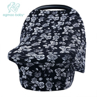 Newborn Car Seat Cover Infant Lightweight and Breathable Safe Baby Multi Use Nursing Cover Stretchy Breastfeeding Cover Scarf