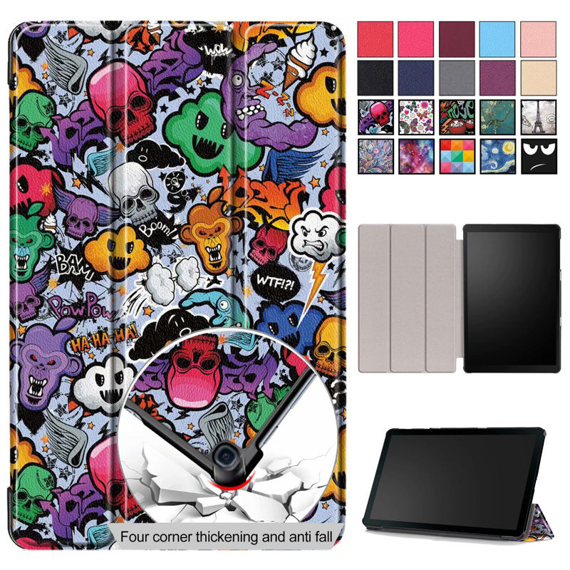 Case For Samsung Galaxy Tab A 10.1 2019 T510 T515 SM-T510 Cover Funda Slim Magnetic Folding PU Leather Stand ShellCase For Samsung Galaxy Tab A 10.1 2019 T510 T515 SM-T510 Cover Funda Slim Magnetic Folding PU Leather Stand Shell