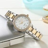 Lorinser Rhinestone Top Luxury Brand Women Watch japanese Quartz 3Bar Waterproof Lady Wrist Watch Women Diamond Bracelet Clock
