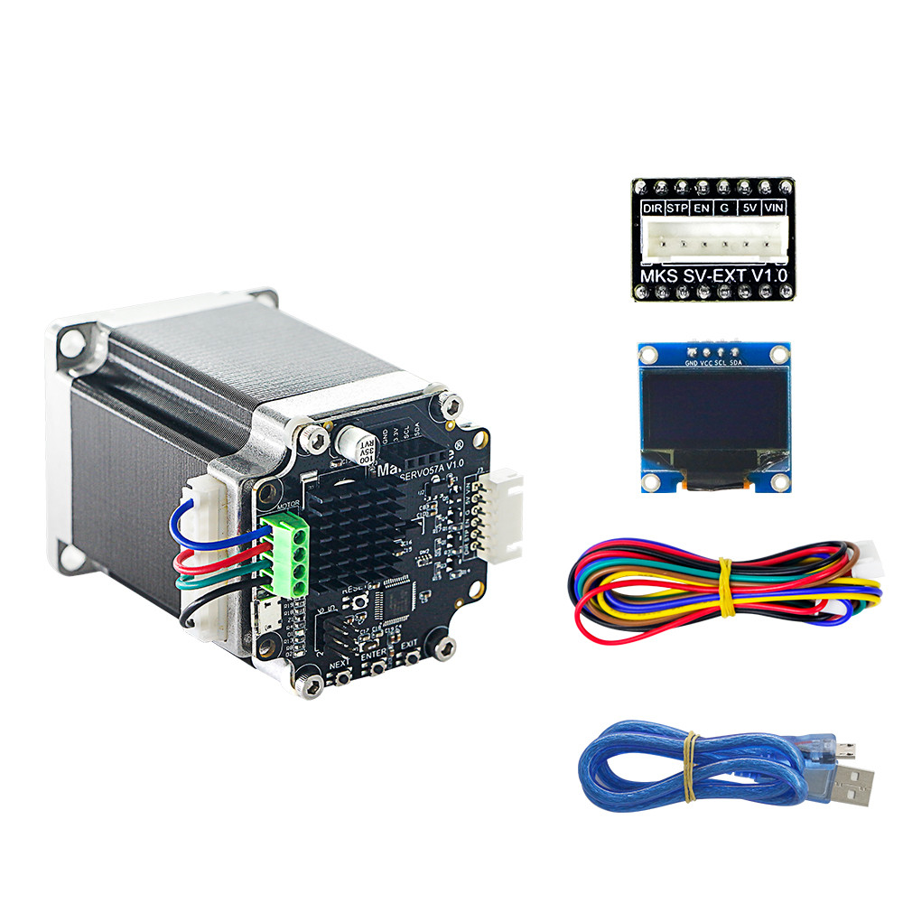 1pcs 3D printing NEMA23 closed loop stepper motor NEMA23 MKS SERVO57 board prevents losing steps