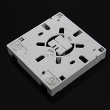 10pcs/lots 2 Core SC FTTH fiber optic socket panel fiber optic terminal junction box 86 type information panels(China)