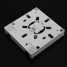 Panel de enchufe de fibra óptica SC FTTH, panel terminal de fibra óptica, caja de conexiones, tipo 86, 10 unids/lote