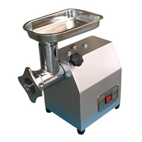 Small Commercial Electric Meat Grinder Stainless Steel Meat Blender Machine Multifunctional Sausage Enema Useful Appliance
