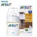 Clásicos AVENT PES Botella Libre de BPA 125 ml Garrafa de Silicona Bebé Recién Nacido Enfermería Alimentación Pezón Botella Botellas de Agua de Los Niños