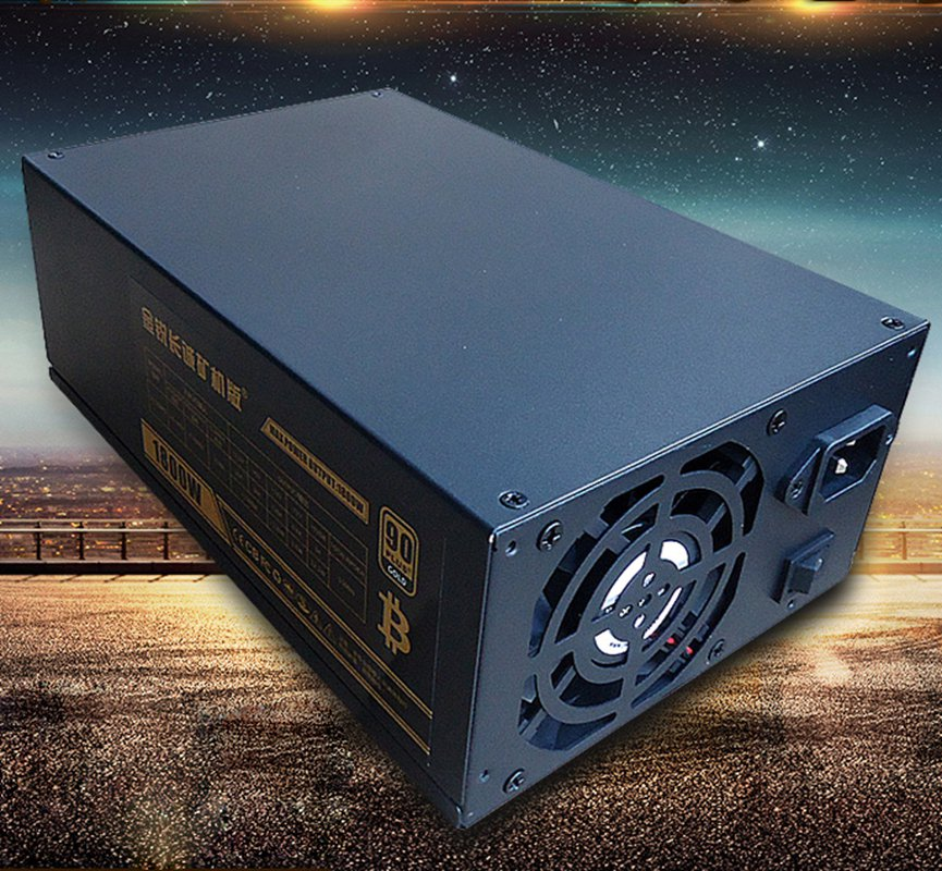 New arrival mining case atx 1800W power supply for antminer S7 S9 A6 A7 for Eth Bitcoin Miner 90 Gold Aluminum Miner Machine au 400 aurum gold 400w atx 80 gold certified power supply