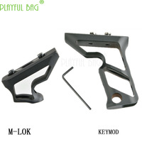Outdoor activity CS toy water bullet gun small F big F upgrade material system grip KEYMOD M LOK Without clip LI60