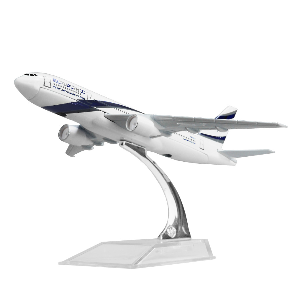 EL AL Israel Airlines Boeing 777 16cm alloy metal model aircraft child Birthday gift plane models chiristmas gift image