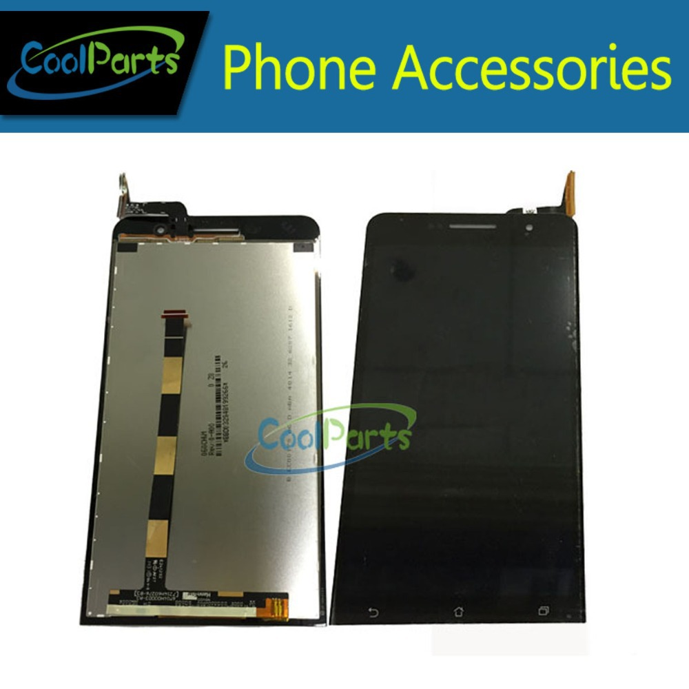 Подробнее о Black Color For Asus ZenFone 6 LCD Display and Touch Screen Digitizer Assembly 1PC/Lot Free Shipping black replacement part for asus zenfone 4 lcd display and touch screen digitizer assembly 1pc lot free shipping