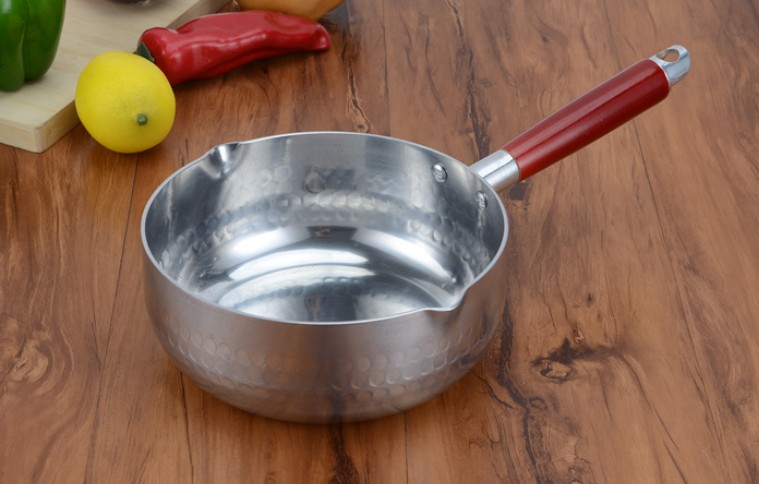 Japanese snow thickened aluminum pan milk pot Japan noodle porridge pot spicy hot pot sauce Korea flat cooking