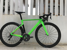 2018 carbon fibre road bike complete bicycle carbon BICICLETTA bicycle with bike group R8000 5800 carbon 50mm clincher cheap Unisex 7 5kg 0 1 m3 160-185cm Resistance Rubber (Medium Gear Non-damping) V Brake Disc Brake Hard Frame (Non-rear Damper)