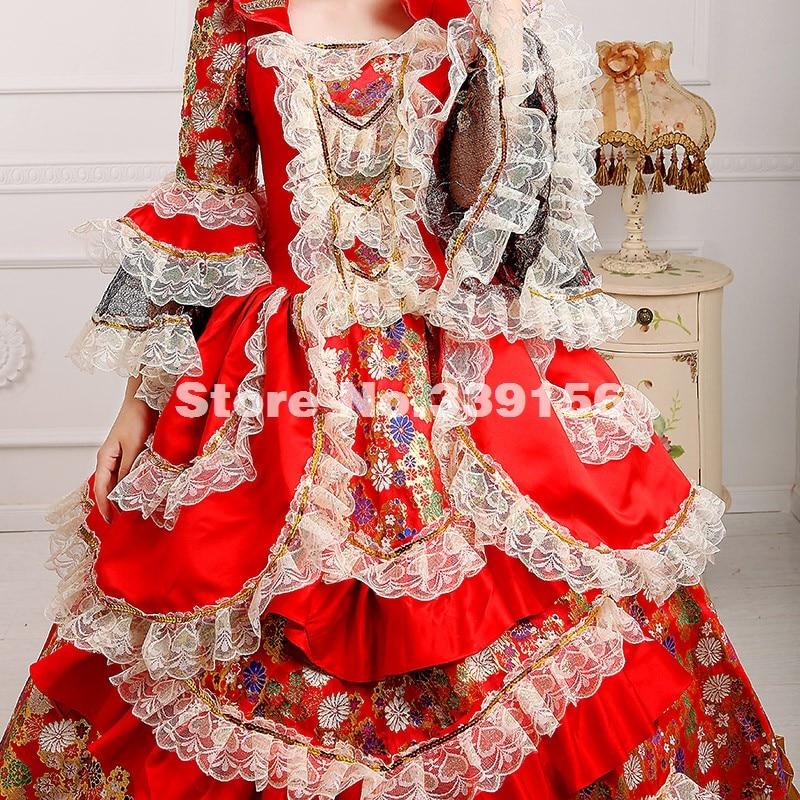 Costume Belle Mardi Marie Renaissance Robe as Antoinette Parti Picture As Southern Arrivée Nouvelle Gras Rouge Picture 18e Siècle carnaval zxwPIYWqRf