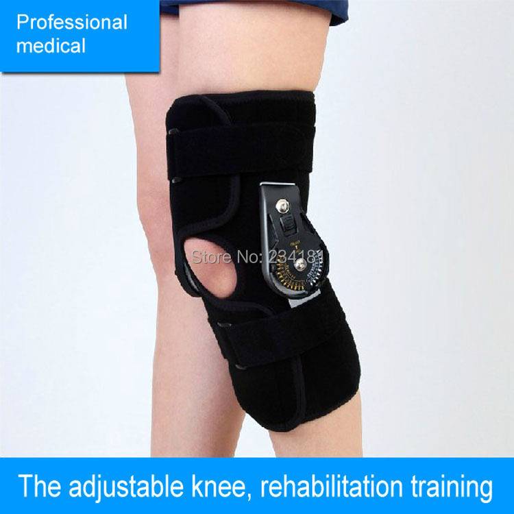 Knee joint fixed bracket can be adjusted Orthoses holder fractures of the knee and rehabilitation adjustable knee joint meniscus knee rehabilitation equipment maintenance men and women with a fixed fractures knee ligament reco