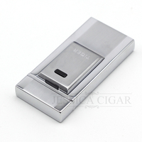 USB Dual Arc Lighter COHIBA Recycled Electric Lighters Rechargeable Electronic Cigarette Cigar Lighter Gift Box