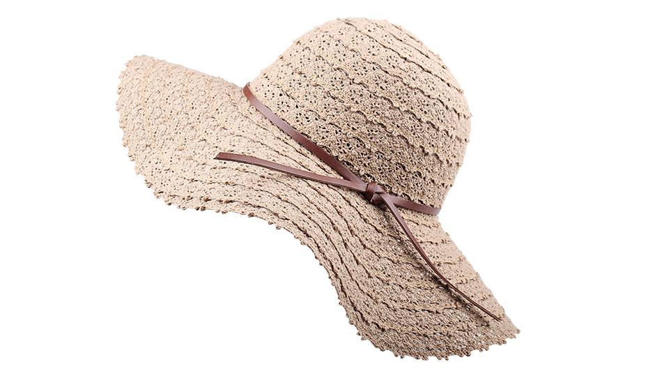 c7b5336eab4d5a FURTALK Foldable Cotton Beach sun hats for Women Fashion Design ...