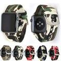 Камуфляжный наручный ремень YUKIRIN, брезентовый ремешок для Apple Watch серии 4, 3, 2, 1, ремешок для iwatch мужчин 44 мм, 42 мм, 40 мм, 38 мм - фото