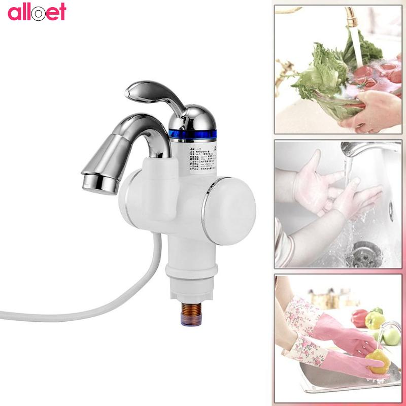 Hot Sale 3000W kitchen/bathroom Electric Instant Tankless Heater Faucet Hot Water Tap Kitchen Supplies Electric Hot Water Heater