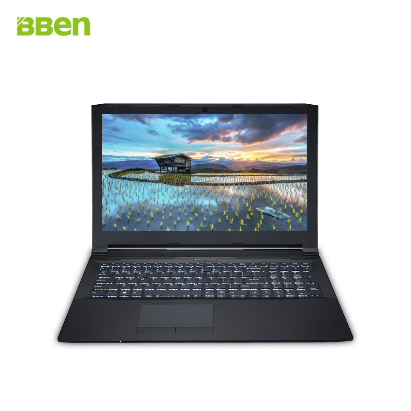 Bben 15.6'' Laptops Computer Pro Win10 Intel Skylake I5-6300HQ 8G RAM 256G Emmc 1 TB HDD Quad Core NVIDIA GeForce