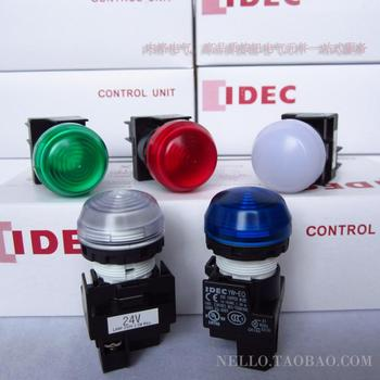 [ SA ]Japan and spring IDEC LED 22mm round YW1P-2EQ4 * 24VAC/DC LED lights--10PCS/LOT