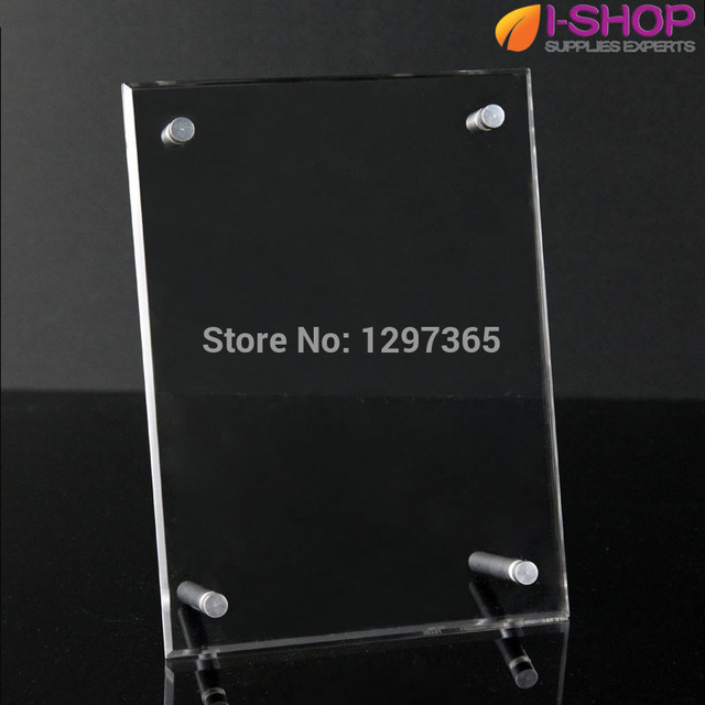 plexiglass photo frames/acrylic picture frame with screw 12\