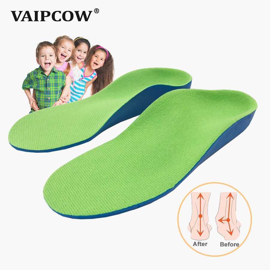 3D Orthotic Insoles flat feet for kids and Children Arch Support insole for X-Legs child orthopedic shoes Foot Care3D Orthotic Insoles flat feet for kids and Children Arch Support insole for X-Legs child orthopedic shoes Foot Care