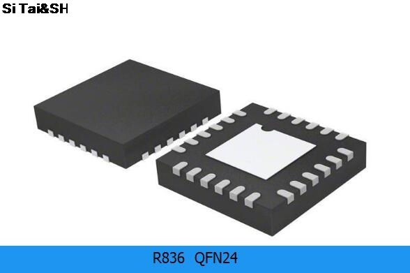 r836 tuner circuit diagram - 2pcs/lot R836 high-frequency tuner IC QFN  integrated circuit