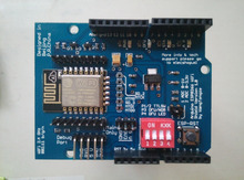 ESP8266 expansion board extension GPIO custom firmware Wifi shield Arduino