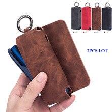 JINXINGCHENG 2PCS LOT Case for IQOS 3.0 3  Bag IQOS3 Wallet Protective Cover Accessories