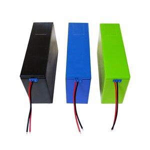 Image 3 - Contenitore di batteria al litio 13S6P 48V 20Ah li ion cassa di batteria + supporto + nichel + 13S 20A BMS Per 18650 batteria